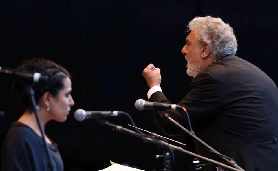 Maria Katzarava / Placido Domingo
